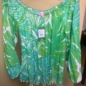 Lilly Pulitzer Off-Shoulder Enna Top